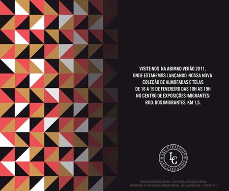 Circuito Arq+Decor ABIMAD_2011 Les Coussins lancará nova coleção na ABIMAD Verão 2011 NEWS