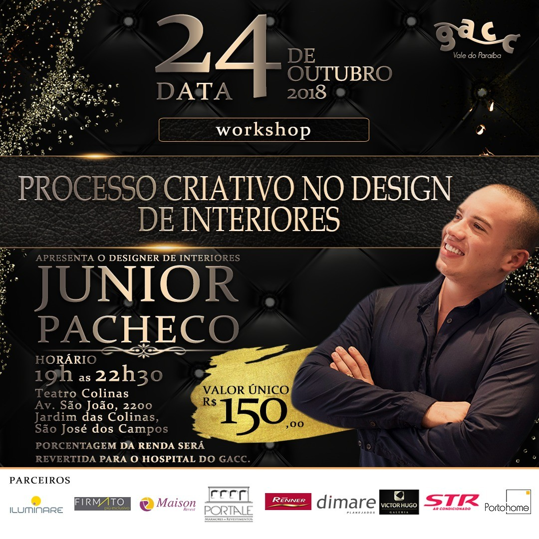 Circuito Arq+Decor JUNIOR-PACHECO1 Processo criativo no design de interiores NEWS