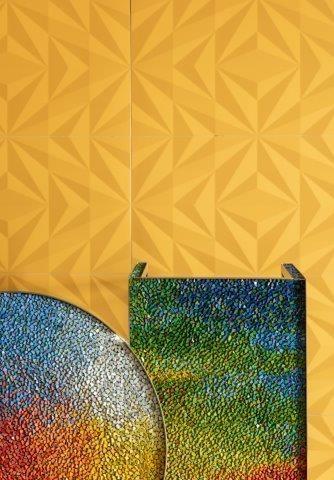 Circuito Arq+Decor Losango-Amarelo A vibração do amarelo em destaque DICAS - Produtos e Serviços