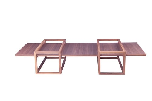 Circuito Arq+Decor Mesa-de-centro-Diedro Sierra Móveis Gabriel ensina como utilizar mesas na sala de estar DICAS - Produtos e Serviços