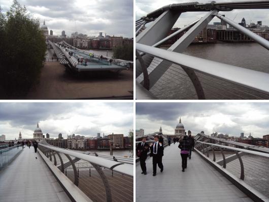 Circuito Arq+Decor millenium-bridge Sir Norman Foster & Partners em Londres por Ana Paula Barros ARQUITETURISMO