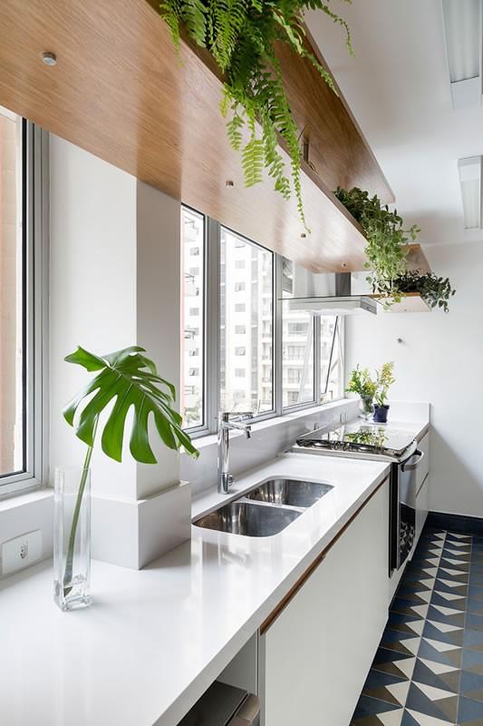Circuito Arq+Decor tria-arquitetura-12 Texturas naturais, plantas e fluidez no apto com 'clima de casa' assinado pelo TRIA Arquitetura PROJETOS